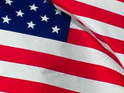 amerykańska flaga  - polityka i rząd filmów i materiałów b-roll