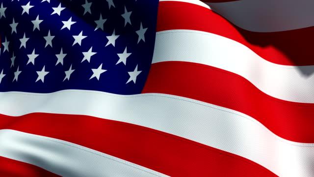 칠레식 플래그 - us flag 스톡 비디오 및 b-롤 화면