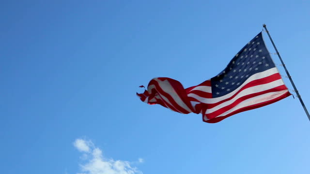 usa american flag - independence day stock videos & royalty-free footage
