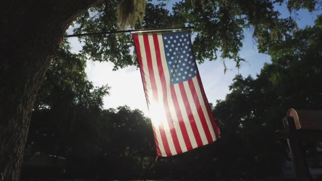 american flag - independence day stock videos & royalty-free footage
