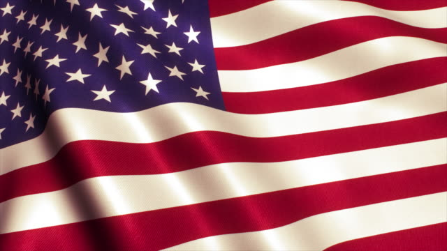 미국 국기 비디오 루프 - american flag 스톡 비디오 및 b-롤 화면