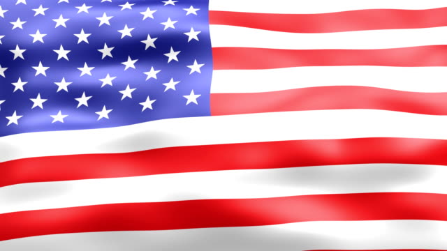 American Flag waving HD (Loop) video