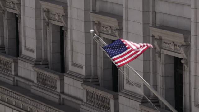 amerikansk flagga viftande - domstol bildbanksvideor och videomaterial från bakom kulisserna