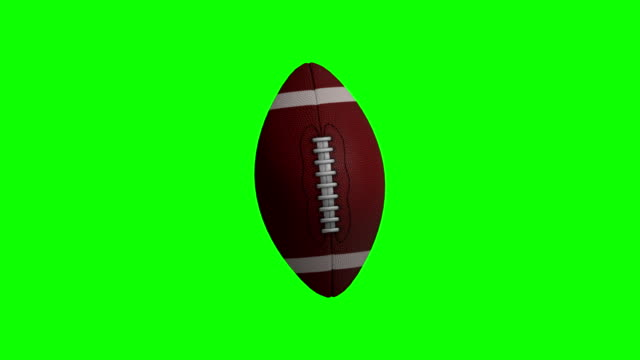US-amerikanischer American-Football-Animation mit Greenscreen – Video