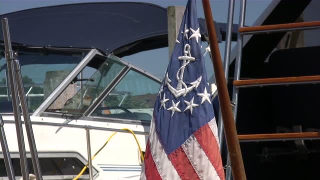 American Nautical flag video