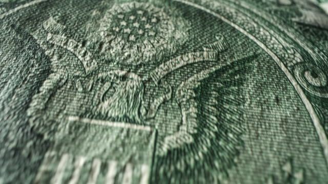 American One Dollar Bill American One Dollar Bill, Insignia stimulus stock videos & royalty-free footage