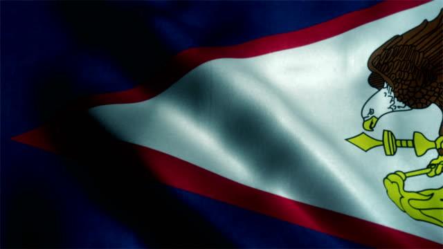American Samoa state flag video