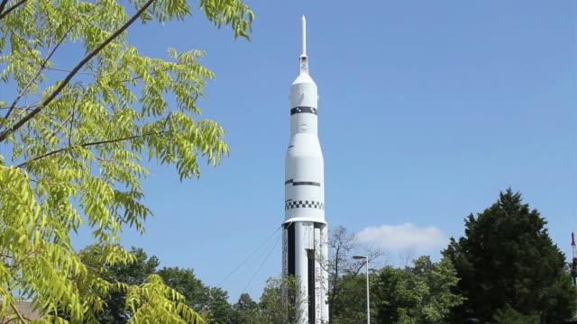 american space travel - alabama stok videoları ve detay görüntü çekimi