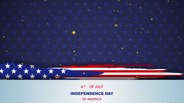 USA American wave flag Happy 4th of July background.Independence day Banner holiday in United States of America. Abstract stars template. element national flag. shooting star illustration USA American wave flag Happy 4th of July background.Independence day Banner holiday in United States of America. Abstract stars template. element national flag. shooting star illustration happy 4th of july videos stock videos & royalty-free footage