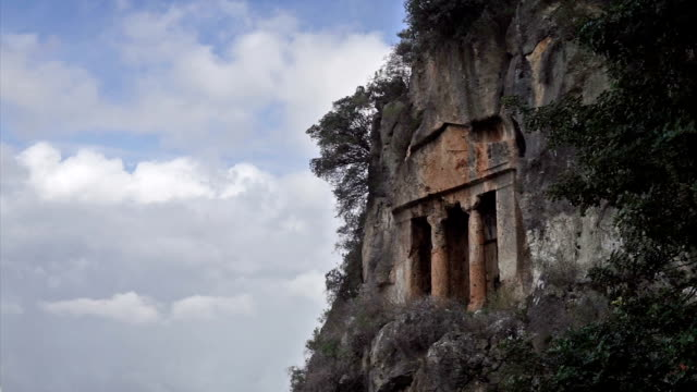Amintas rock tombs video