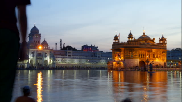 Royalty Free Golden Temple India Hd Video 4k Stock Footage B Roll