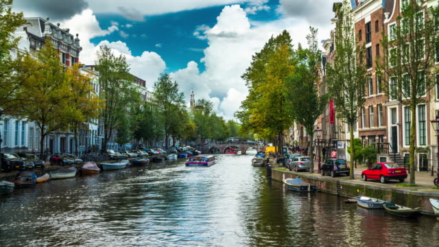 amsterdam - 4k cityscapes, landscapes & establishers - amsterdam video stock e b–roll