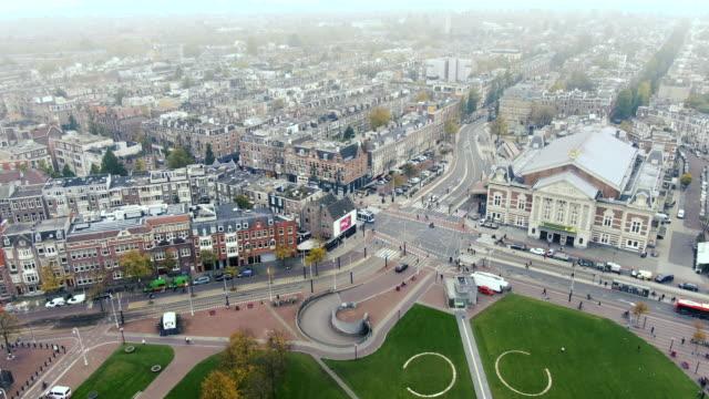 amsterdam flygfoto - drone amsterdam bildbanksvideor och videomaterial från bakom kulisserna
