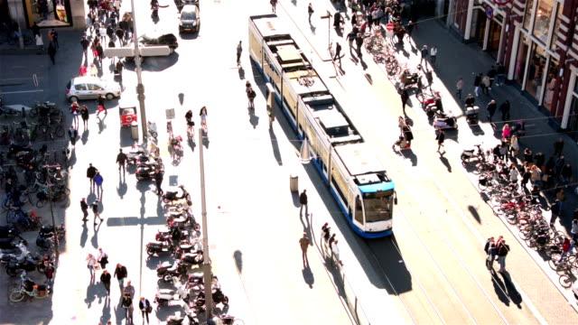 Amsterdam aerial view – Video