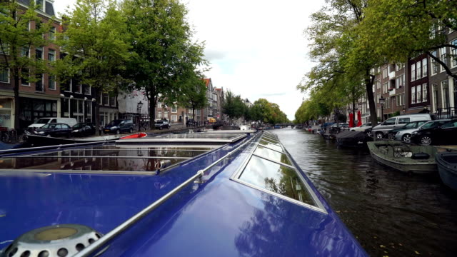 Amsterdam Canal Ride POV video