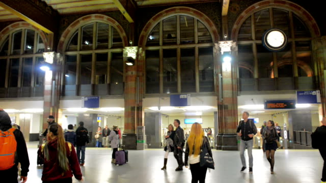 Amsterdam Central Railway Station video