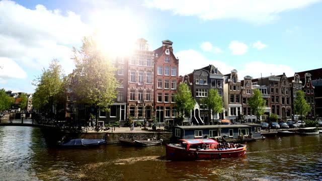 Amsterdam mit Kanal – Video