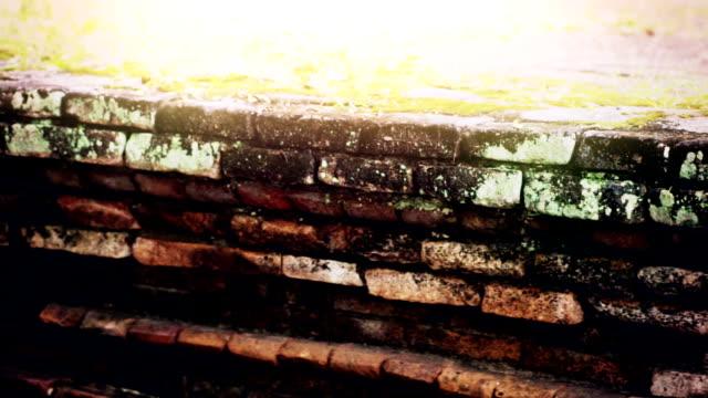 An Ancient Brick Wall video