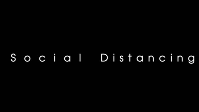 An animation  social distancing to keep distancing An animation  social distancing to keep distancing covid icon stock videos & royalty-free footage