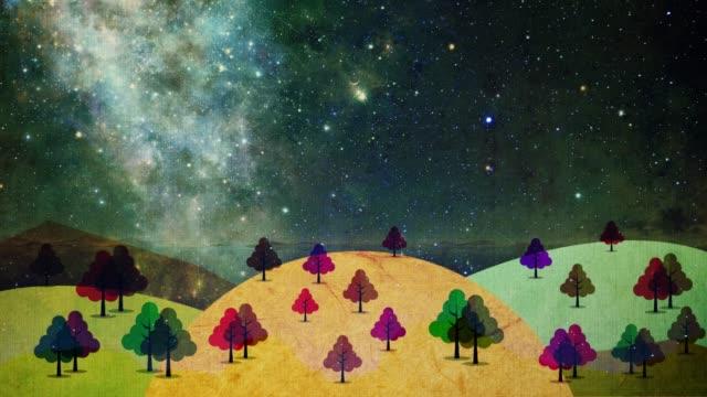 jesienny widok to obraz jak żywy obraz. - ultra high definition television filmów i materiałów b-roll