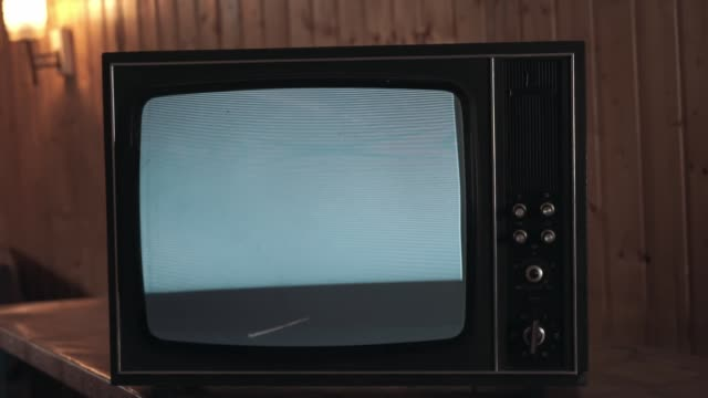 An electrical appliance with interference, old TVs are working badly. TV noise