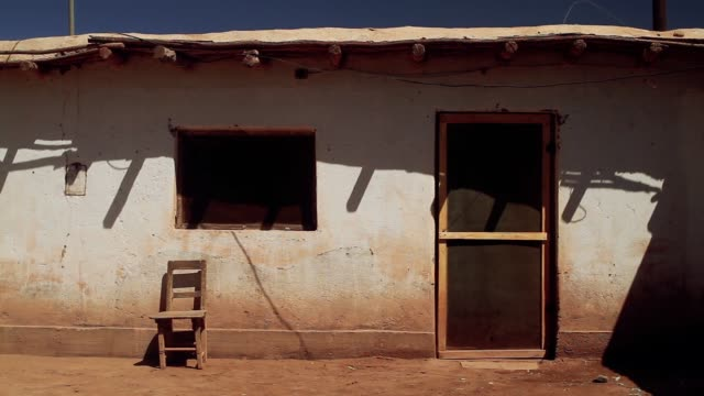 An Old Adobe House in the Altiplano, Argentina, South America.