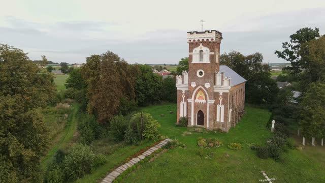 an old catholic church rebuilt into an orthodox church