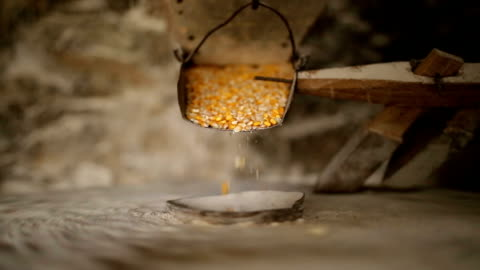 An old mill Video of corn milling in an old mill ancient stock videos & royalty-free footage