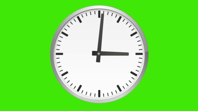 Analog clock spinning, watch animation. Green Screen Analog clock spinning, watch animation. Green Screen. instrument of time stock videos & royalty-free footage