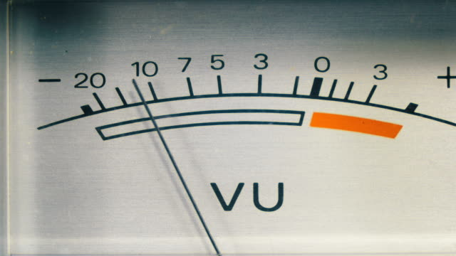 analoges signal-anzeige - sound wave stock-videos und b-roll-filmmaterial