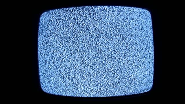 analog tv statisk distorsion buller - offline bildbanksvideor och videomaterial från bakom kulisserna