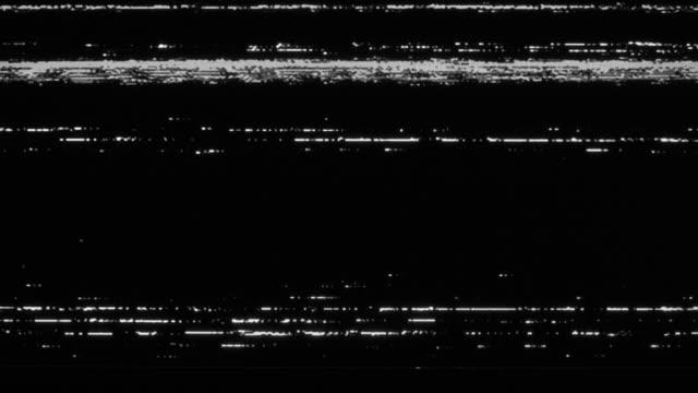 analog tv vhs noise - проблемы стоковые видео и кадры b-roll