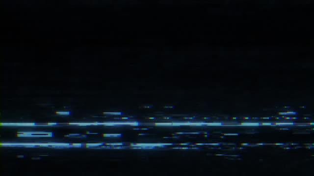 Analog TV VHS noise