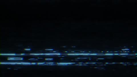 analog tv vhs gürültü - fotoğraf efektleri stok videoları ve detay görüntü çekimi