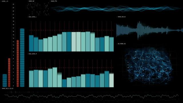 analysis data technology interface loopable animation video