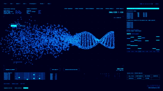 DNA Analysis Software GUI video