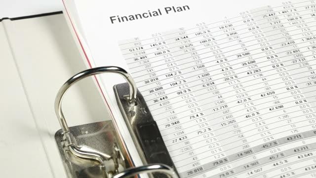 vidéos et rushes de analyser des données financières - book