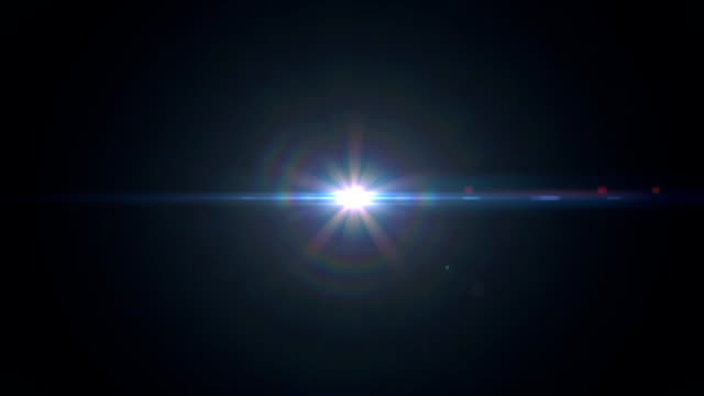 anamorphic lens flare