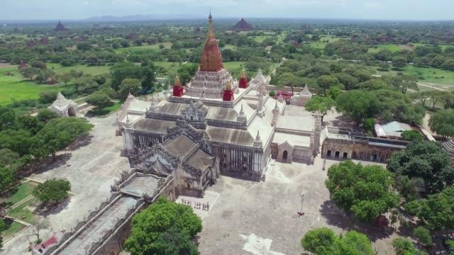 Ananda Temple, Bagan,Myanmar Ananda Temple, Bagan,Myanmar myanmar stock videos & royalty-free footage