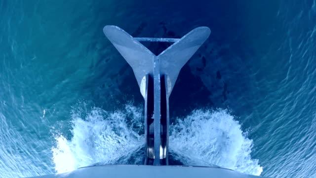 ankare på en rörliga båt - skrov bildbanksvideor och videomaterial från bakom kulisserna