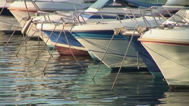 stockvideo's en b-roll-footage met hd: anchored boats - marseille