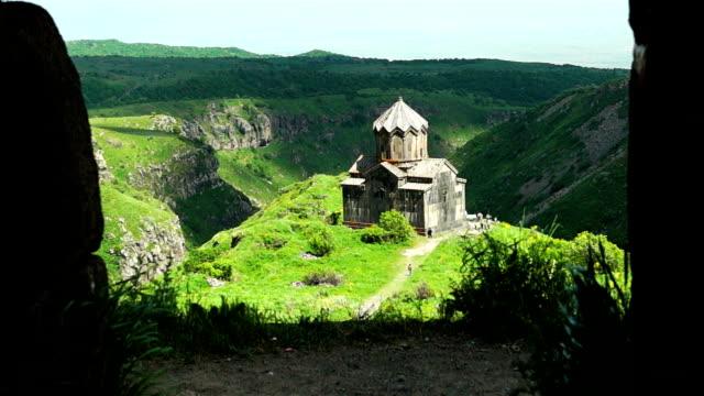Ancient armenian monastery Amberd video