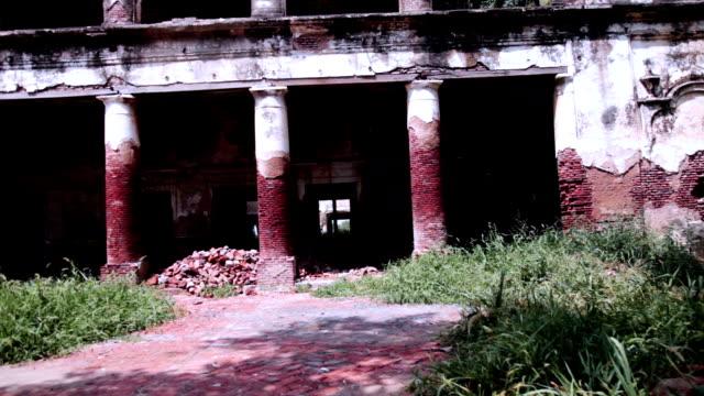 古代の建物屋外パン hd - ハリヤナ州点の映像素材/bロール