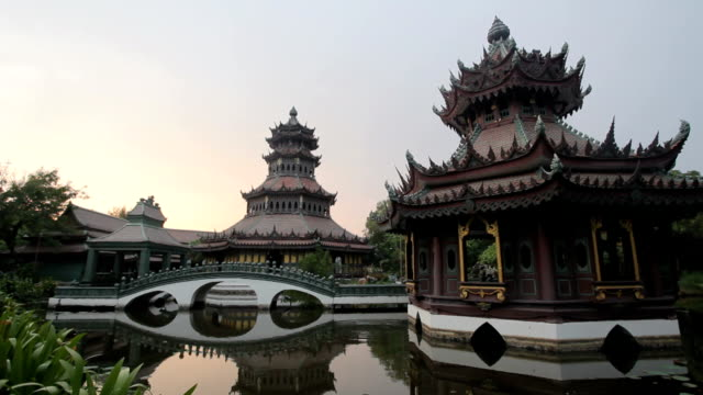 ancient Chinese architecture video