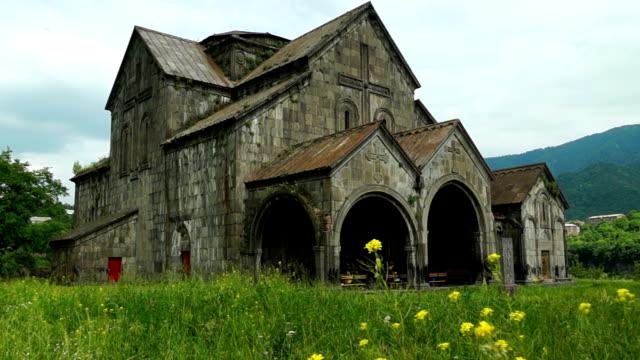 Ancient church in armenian monastery Akhtala video
