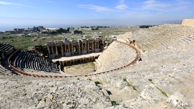 ancient city of Hierapolis video