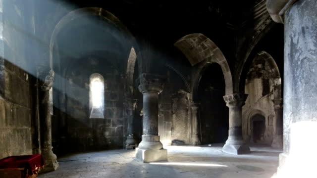 Ancient Geghard Monastery in Armenia video