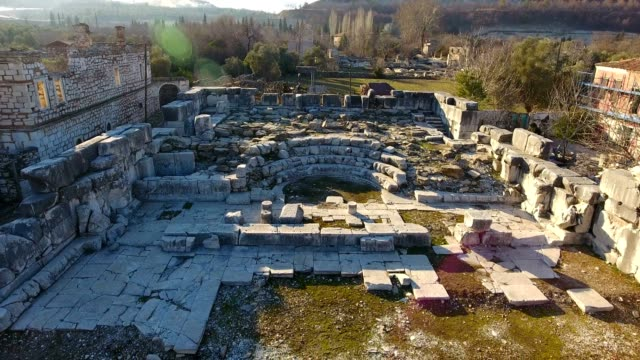 Ancient Greek and Ancient Roman Ruins in Turkey video
