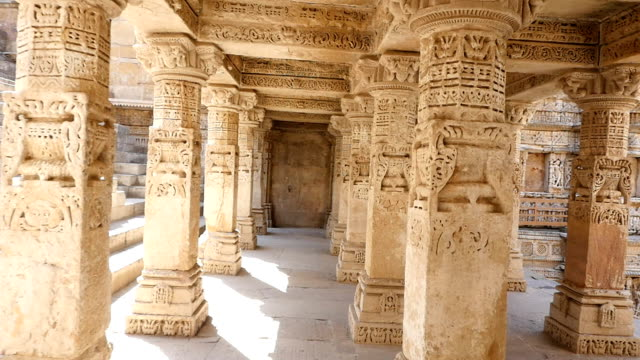 Ancient Indian temple video