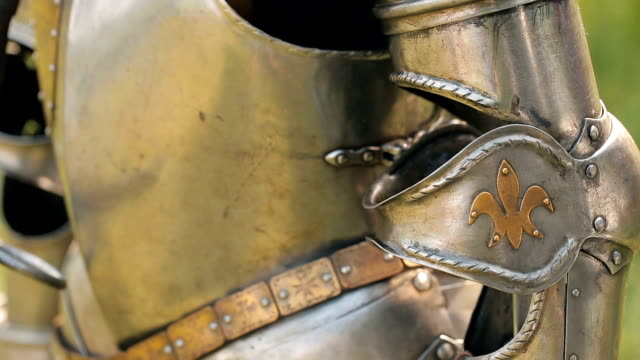 Ancient metal armor video